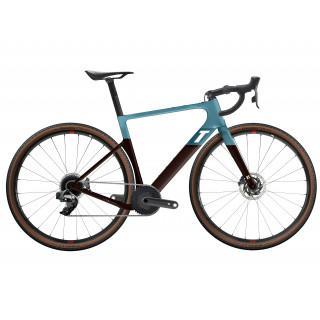 3T Exploro RaceMax Rival AXS 1x Gravel dviratis / Blue-Brown