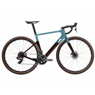 3T Exploro RaceMax Force AXS 2x Gravel dviratis / Blue-Brown