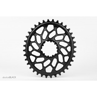 Absoluteblack CX Oval for Sram Direct Mount GXP & BB30 dantratis