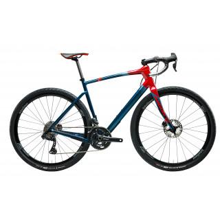 Argon18 Dark Matter Gravel dviratis / Dawn Blue - Dark Red