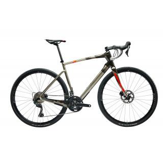 Argon18 Dark Matter Gravel dviratis / Hyper Silver - Coat Black