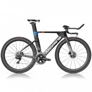 Argon18 E-118 Tri+ Disc triatlono dviratis / Grey-Blue