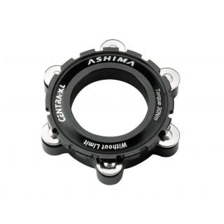 Ashima Center Lock AC03 QR 15/20mm adapteris, juodas