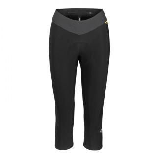 Assos UMA GT Spring Fall 3/4 moteriškos dviratininko kelnės be petnešų - Black Series