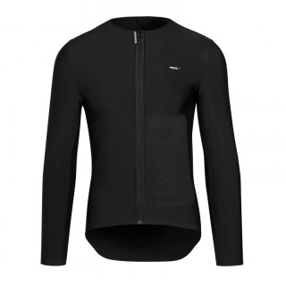 Assos EQUIPE RS Winter Mid Layer vyriški dviratininko marškinėliai - Black Series