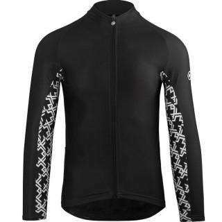 Assos MILLE GT Spring Fall vyriški dviratininko marškinėliai - Black Series