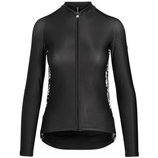 Assos UMA GT Spring Fall moteriški dviratininko marškinėliai - Black Series
