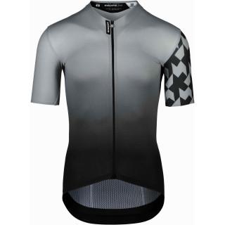 Assos EQUIPE RS Summer Prof Edition vyriški dviratininko marškinėliai - Gerva Grey