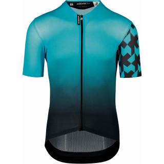 Assos EQUIPE RS Summer Prof Edition vyriški dviratininko marškinėliai - Hydro Blue