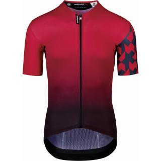 Assos EQUIPE RS Summer Prof Edition vyriški dviratininko marškinėliai - Vignaccia Red