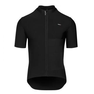 Assos EQUIPE RS Winter SS Mid Layer vyriški dviratininko marškinėliai - Black Series