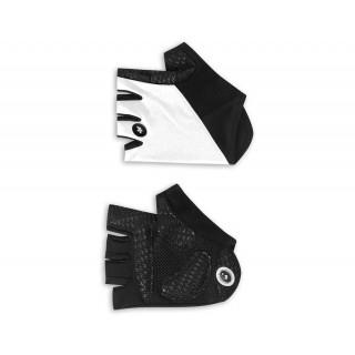 Assos summerGloves S7 trumpos dviratininko pirštinėlės , Whitepanther