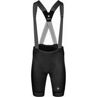 Assos EQUIPE RS Summer S9 Werksteam vyriški dviratininko šortai - Black Series