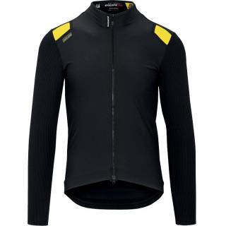 Assos EQUIPE RS Spring Fall vyriška dviratininko striukė - Black Series