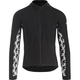 Assos MILLE GT Spring Fall vyriška dviratininko striukė - Black Series