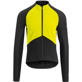 Assos MILLE GT Spring Fall vyriška dviratininko striukė - Fluo Yellow