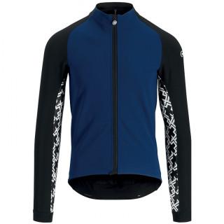 Assos MILLE GT Winter vyriška dviratininko striukė - CaleumBlue