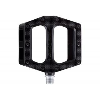 Azonic MTB Pucker Up pedalai, juodi