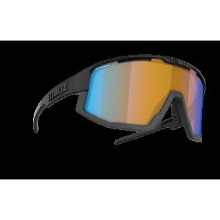 BLIZ Active Fusion Matt Black Nano Optics | Nordic Light - Coral akiniai