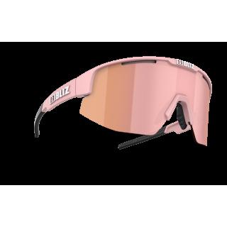 BLIZ Active Matrix Small Matt Powder Pink akiniai