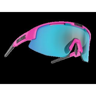 BLIZ Active Matrix Small Shiny Pink akiniai