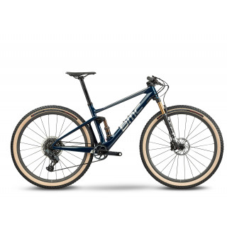 BMC FOURSTROKE 01 ONE - XX1 Eagle AXS Mix kalnų dviratis / Space Blue