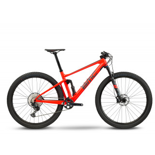 BMC FOURSTROKE 01 THREE - SLX 1x12 kalnų dviratis / Electric Red