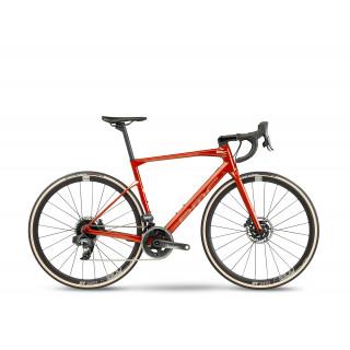 BMC ROADMACHINE ONE - Force AXS HRD plento dviratis / Red Amber