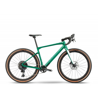 BMC UnReStricted 01 TWO - Force AXS HRD Eagle gravel+ dviratis / Green