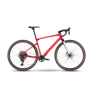 BMC UnReStricted 01 ONE gravel+ dviratis / Coral Red - Carbon