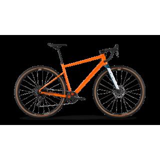 BMC UnReStricted AL ONE gravel+ dviratis / Metallic Orange - Dark Petrol
