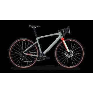 BMC UnReStricted ONE V1 gravel+ dviratis / Grey-Neon Red