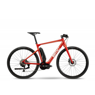 BMC ALPENCHALLENGE AMP AL SPORT elektrinis dviratis / Red Amber