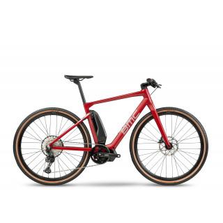 BMC ALPENCHALLENGE AMP CROSS ONE elektrinis dviratis / Ruby Red