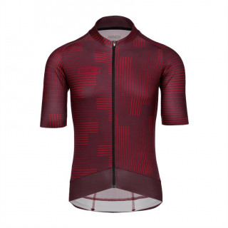 Bioracer Epic Warp Bordeaux marškinėliai