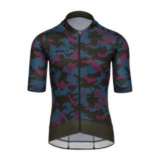 Bioracer Epic Camo21 Olive Blue marškinėliai