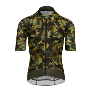 Bioracer Epic Camo21 Olive Yellow marškinėliai