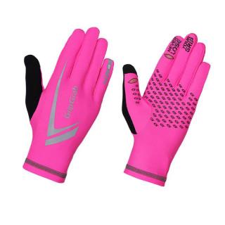 GripGrab Expert Hi-Vis Winter Touchscreen bėgimo pirštinės, Pink