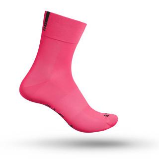 "GripGrab dviratininko kojinės ""Lightweight SL"", Pink Hi-Vis"