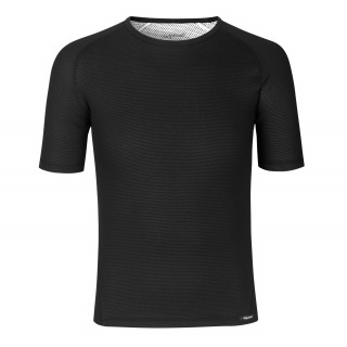 GripGrab Ride Thermal Short Sleeve apatiniai marškinėliai, Black