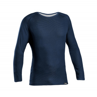 GripGrab Ride Thermal Long Sleeve Termo marškinėliai, Navy Blue