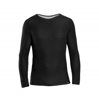 GripGrab Ride Thermal Long Sleeve Termo marškinėliai, Black