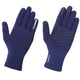 """GripGrab žieminės dviratininko pirštinės """"Waterproof Knitted Thermal"""", Blue"""