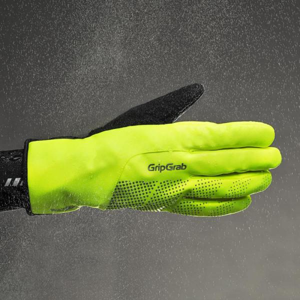 """GripGrab žieminės dviratininko pirštinės """"Ride Hi-Vis Waterproof"""""""