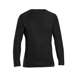 GripGrab Merino Polyfibre Long SleeveTermo marškinėliai, Black