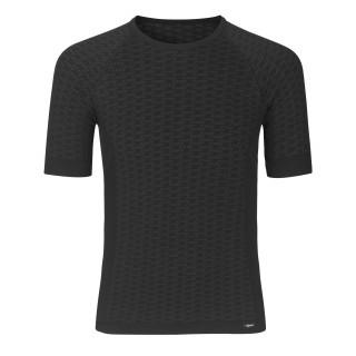 GripGrab Expert Seamless Lightweight apatiniai marškinėliai, Black