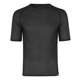 GripGrab Ultralight Mesh Short Sleeve apatiniai marškinėliai, Black