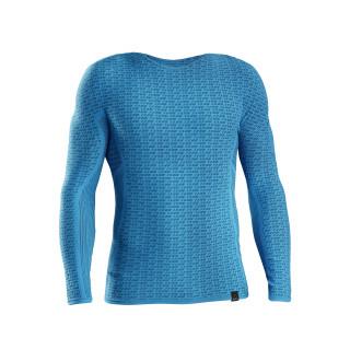 GripGrab Freedom Seamless  Termo marškinėliai, Blue