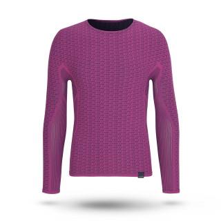 GripGrab Freedom Seamless  Termo marškinėliai, Pink