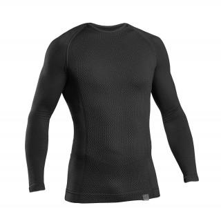 GripGrab Expert Seamless Thermal Termo marškinėliai, Black